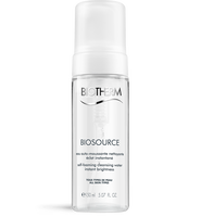 Biotherm Biosource Self Foaming Cleanser Biotherm Biosource Self Foaming Cleanser The New Biosource Self-foaming Cleansing Water Purifies And Perfectly Cleanses The Skin For An Invigorating Yet Purifying Result On Skin.the Light, Foaming Texture Transforms Into A Smooth And Delicate Cream Which Cleanses Gently And Completely Even Delicate, Sensitive Skin.soap-free To Avoid Skin Dryness, The Formula (non-drying Active Ingredient + Soft Surfactant) Softens The Skin.don't Wait Any Longer For A Comforting And Highly-sensory Air-light Break!