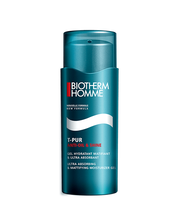 T-pur Anti-oil & Shine Moisturizer Bottle 50ml Biotherm <p>FIGHT SKIN SHINE : CONTROL EXCESS SEBUM, MASTER SWEAT FOR A RESULT THAT LASTS ALL DAY LONG! <br /> <br />Humidity, hot conditions, heat strokes, a sudden fright or simply oily skinshiny skin is a universal concern for men.<br />This light-weight moisturizing mattifying gel brings a clean skin effect that last all day long. <br /><br />With sea algae extract + zinc and perlite, this gel absorbs shine to help skin look fresher and more matt. No more shiny skin provoked by excess oil and sweat.<br /><br />ATTESTED BY MEN*: <br />Skin looks more matte for 90% of men <br />Skin appears less sweaty for 92% of men <br />Skin feels clean like after-wash for 86% of men <br />Skin looks fresher for 84% of men <br /><br />Follow the 3 step T-PUR program for optimal efficacy: <br />1. a cleanser that neutralizes impurities <br />2. a lotion that tightens pores <br />3. a moisturizer that mattifies all day long</p>