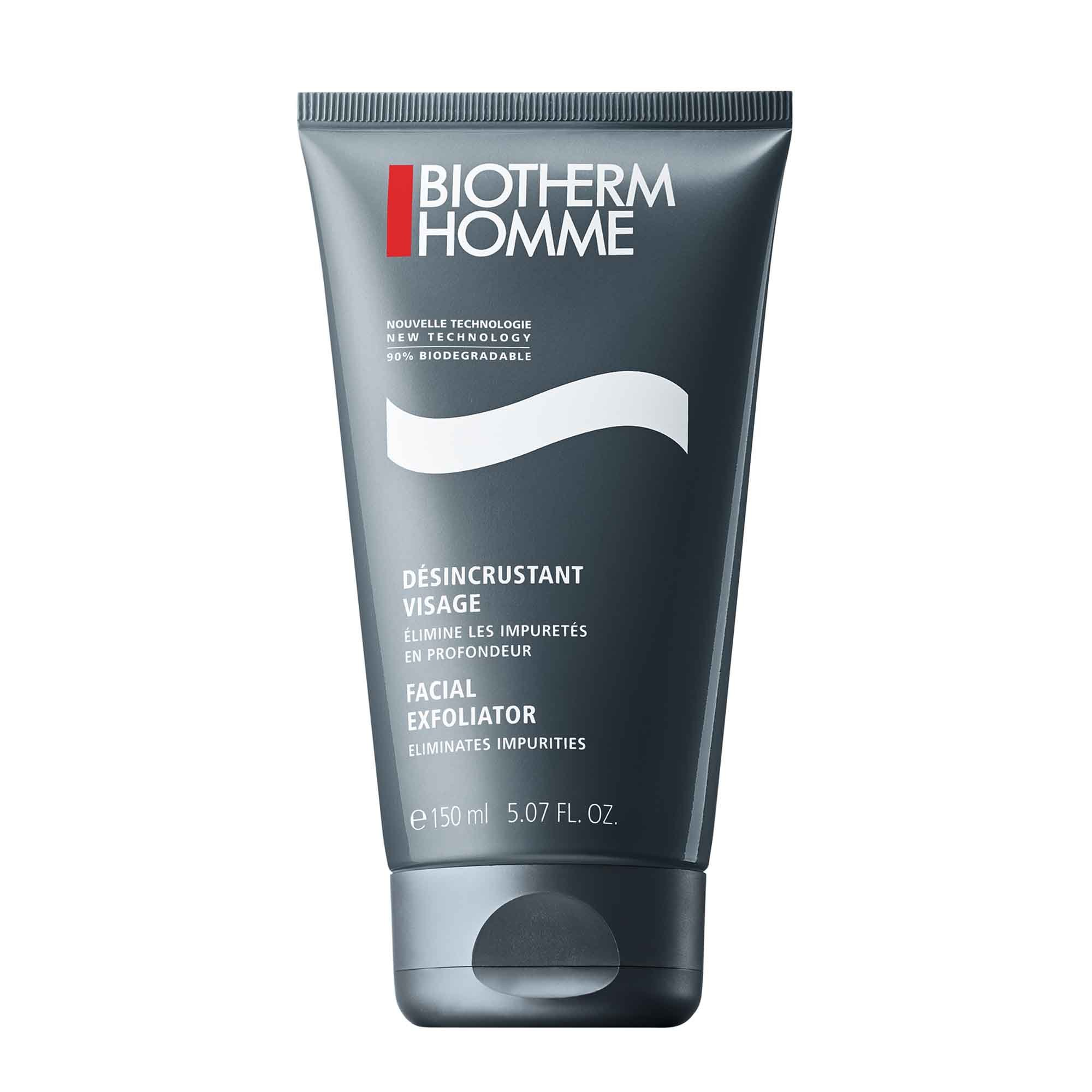 Facial Exfoliator For Men For All Skin Types Biotherm Homme